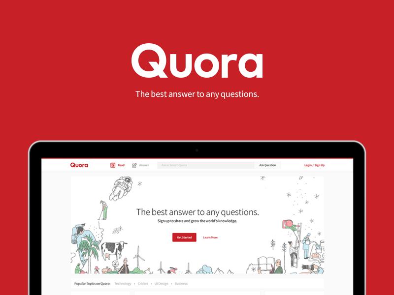 Utiliza Quora en tu estrategia de marketing de contenidos.